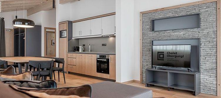 Chalet Apartment Wohnraum2