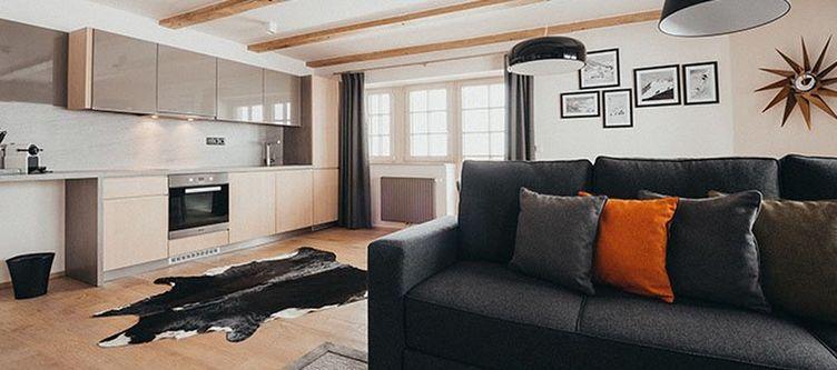 Chalet Apartment Wohnraum3