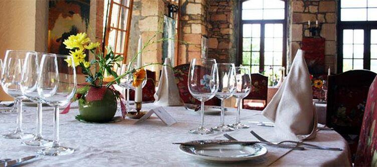 Chateau Restaurant Gedeck2