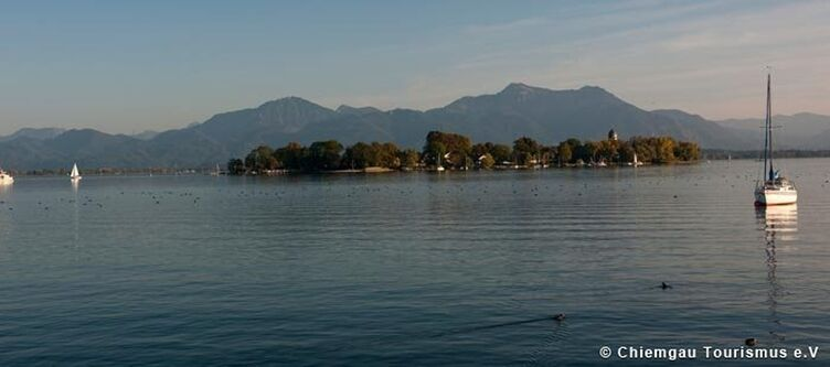 Chiemgau Fraueninsel Im Chiemsee 1