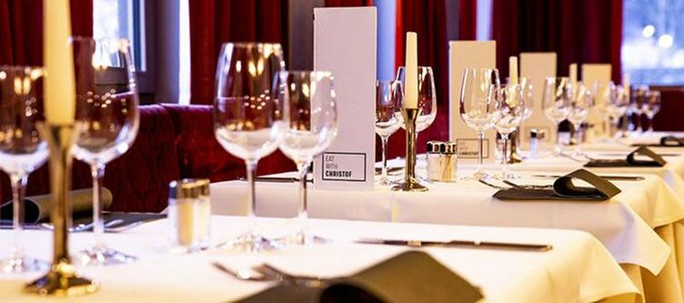 Christof Restaurant Gedeck