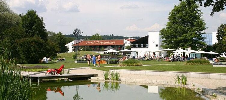 Chrysantihof Teich