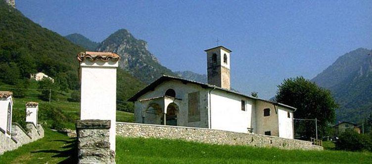 Concaverde Umgebung Kirche