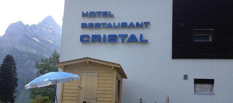 Cristal Hotel Schriftzug