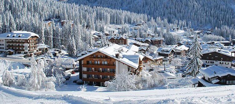 Dahu Hotel Umgebung Winter3