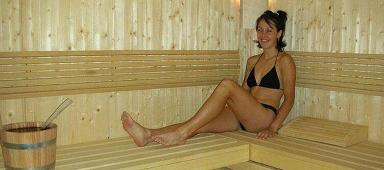 Dolomiti Wellness Sauna Frau