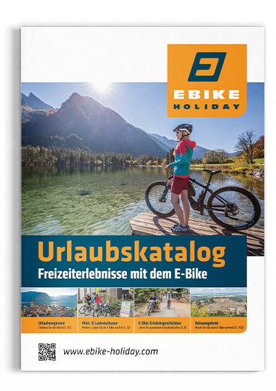 ebike holiday Urlaubskatalog