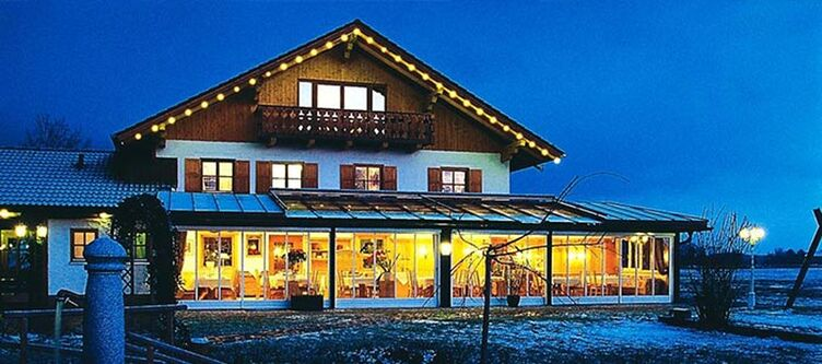 Eichenhof Hotel Winter Abend