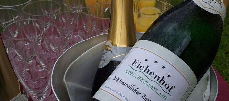 Eichenhof Kulinarik Sekt