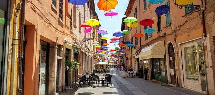 Emilia Romagna Ferrara Regenschirme