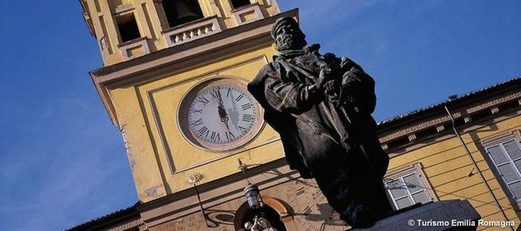 Emilia Romagna Parma Monumento Garibaldi
