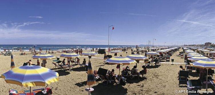 Emilia Romagna Rimini Strand2