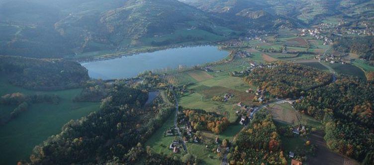 Erla Stubenbergsee Luftaufnahme