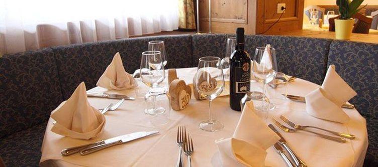 Fanes Restaurant Gedeck