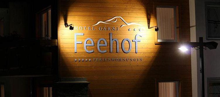 Feehof Hotel Schriftzug