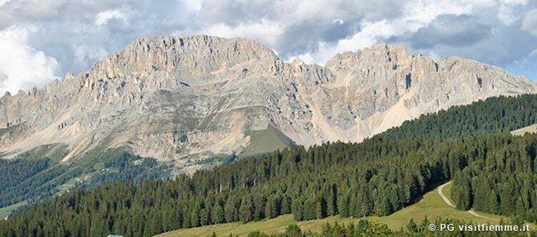 Fiemme Panorama Berge