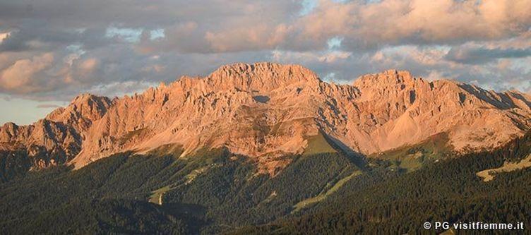 Fiemme Panorama Sonnenuntergang 1