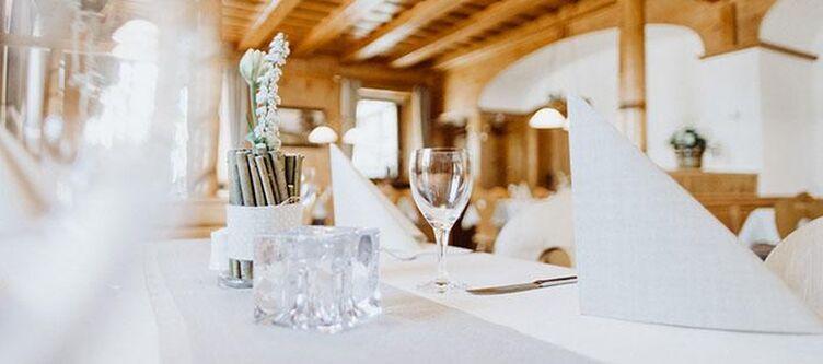 Frauensteiner Restaurant Gedeck