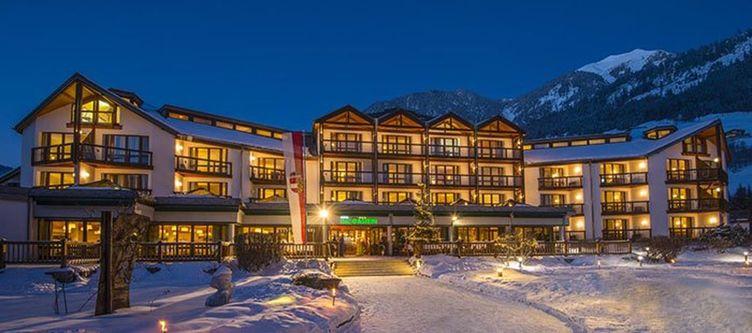 Gastein Hotel Winter Abend