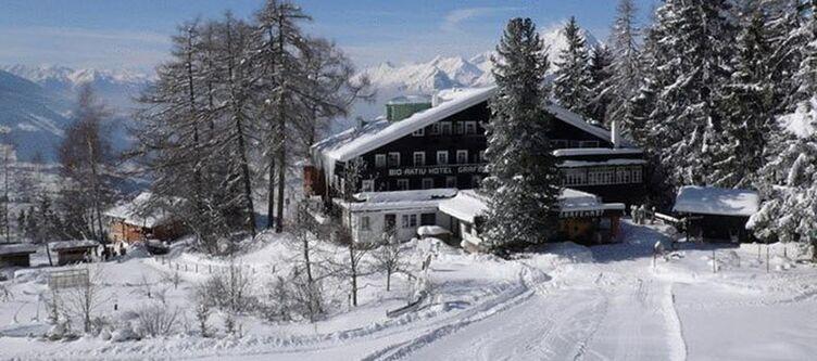 Grafenast Hotel Winter