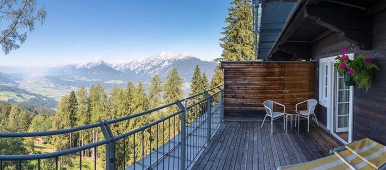 Grafenast Zimmer Talblick Balkon