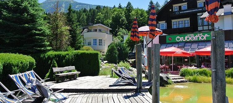 Gruberhof See Steg