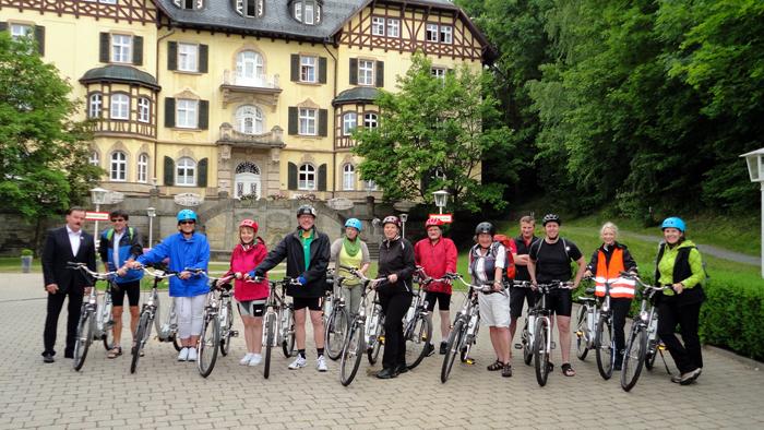 E-Bike Geschichte - Frankenwald