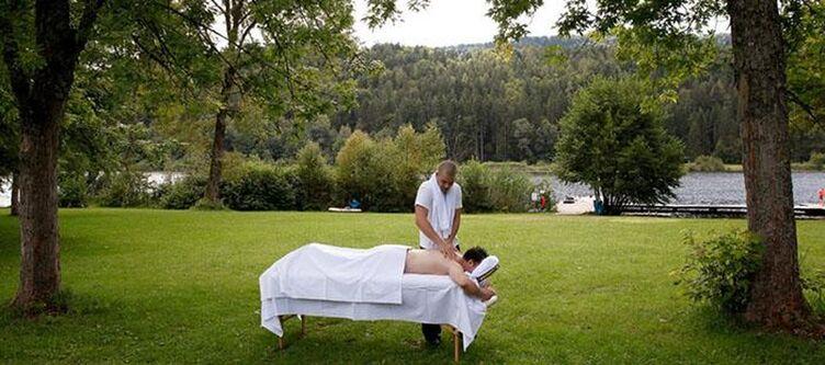 Hafnersee Garten Massage