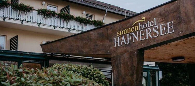 Hafnersee Hotel Eingang