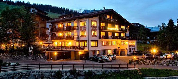 Haldenhof Hotel Abend