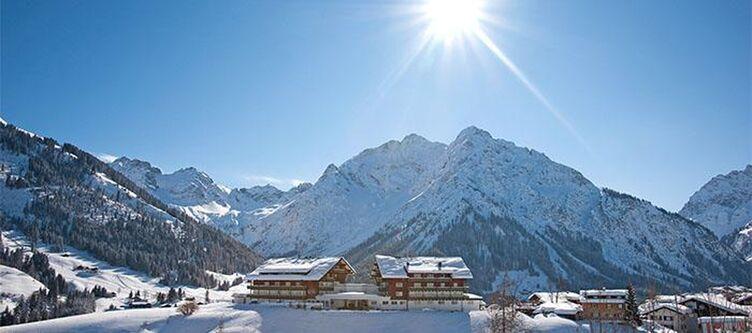 Hallers Hotel Und Umgebung Winter2