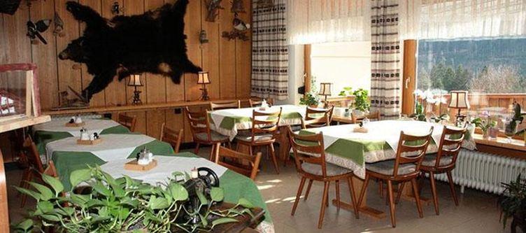 Hirsch Restaurant Mit Baerenfell