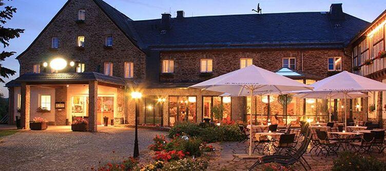 Hoherhahn Hotel Abend