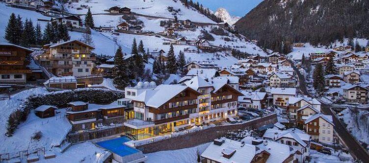Interski Hotel Winter Abend