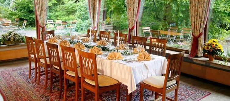 Johannisbad Restaurant Wintergarten