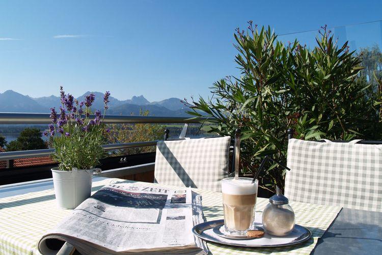 Kaffee Auf Terrasse