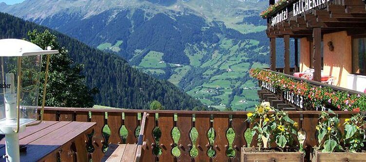 Kalcherhof Terrasse