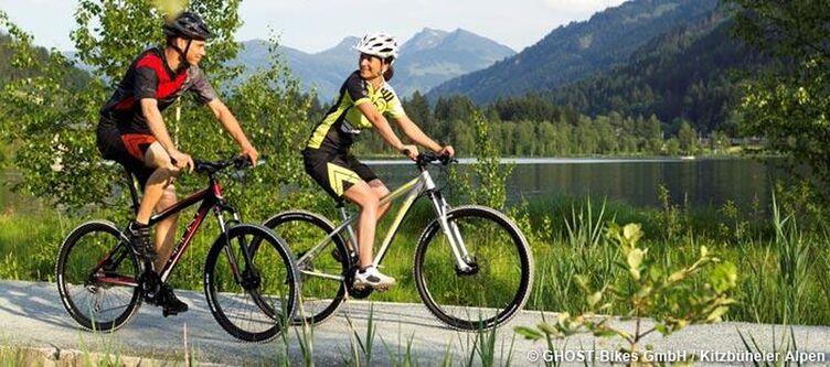 Kitzbueheler Alpen Radfahren Am Schwarzsee 3