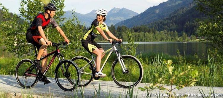 Kitzbueheler Alpen Radfahren Am Schwarzsee