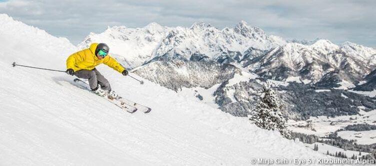 Kitzbueheler Alpen Skifahren 3