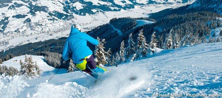 Kitzbueheler Alpen Skifahren Kirchberg 1
