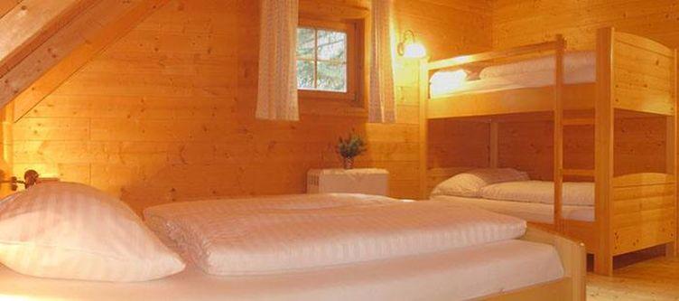 Klippitz Huette Schlafzimmer