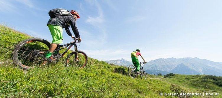 Klostertal Mountainbiken