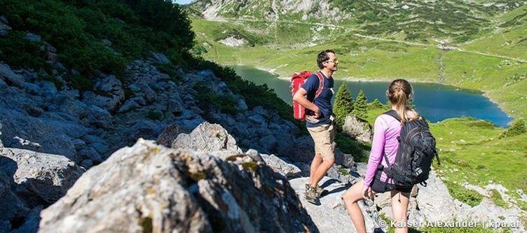 Klostertal Wandern Paar