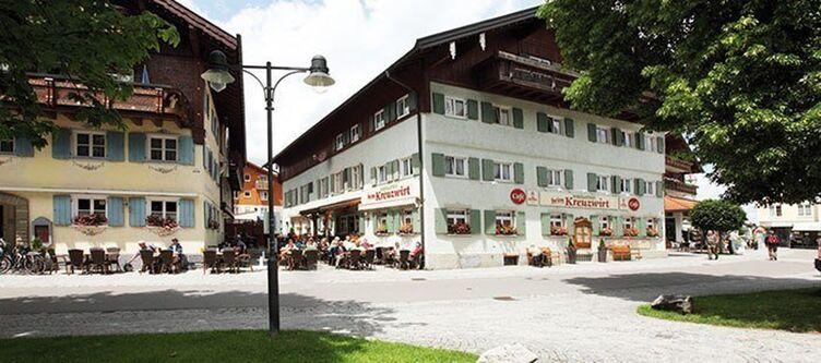 Kreuzwirt Restaurant Aussen 1