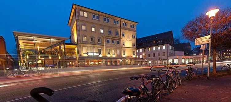 Krone Hotel Abend