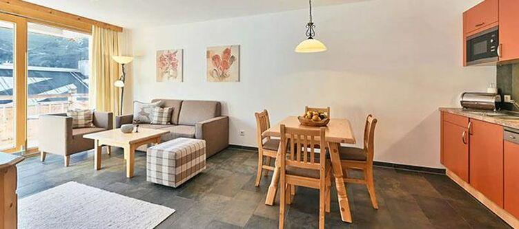 Kuehtai Apartement Murmeltier Wohnraum