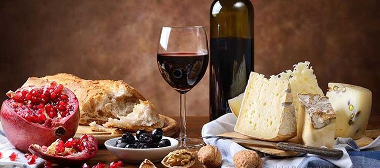 La Pigna Kulinarik Wein