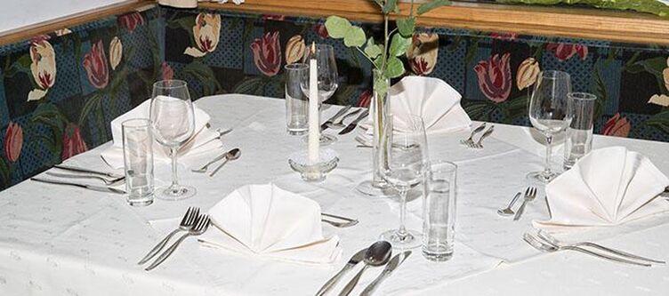 Lackner Restaurant Gedeck