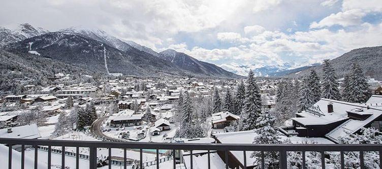 Laerchenhof Ausblick Winter